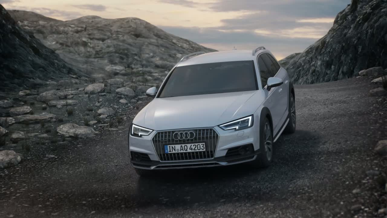 Audi A4 allroad quattro - Animation quattro drive with ultra technology