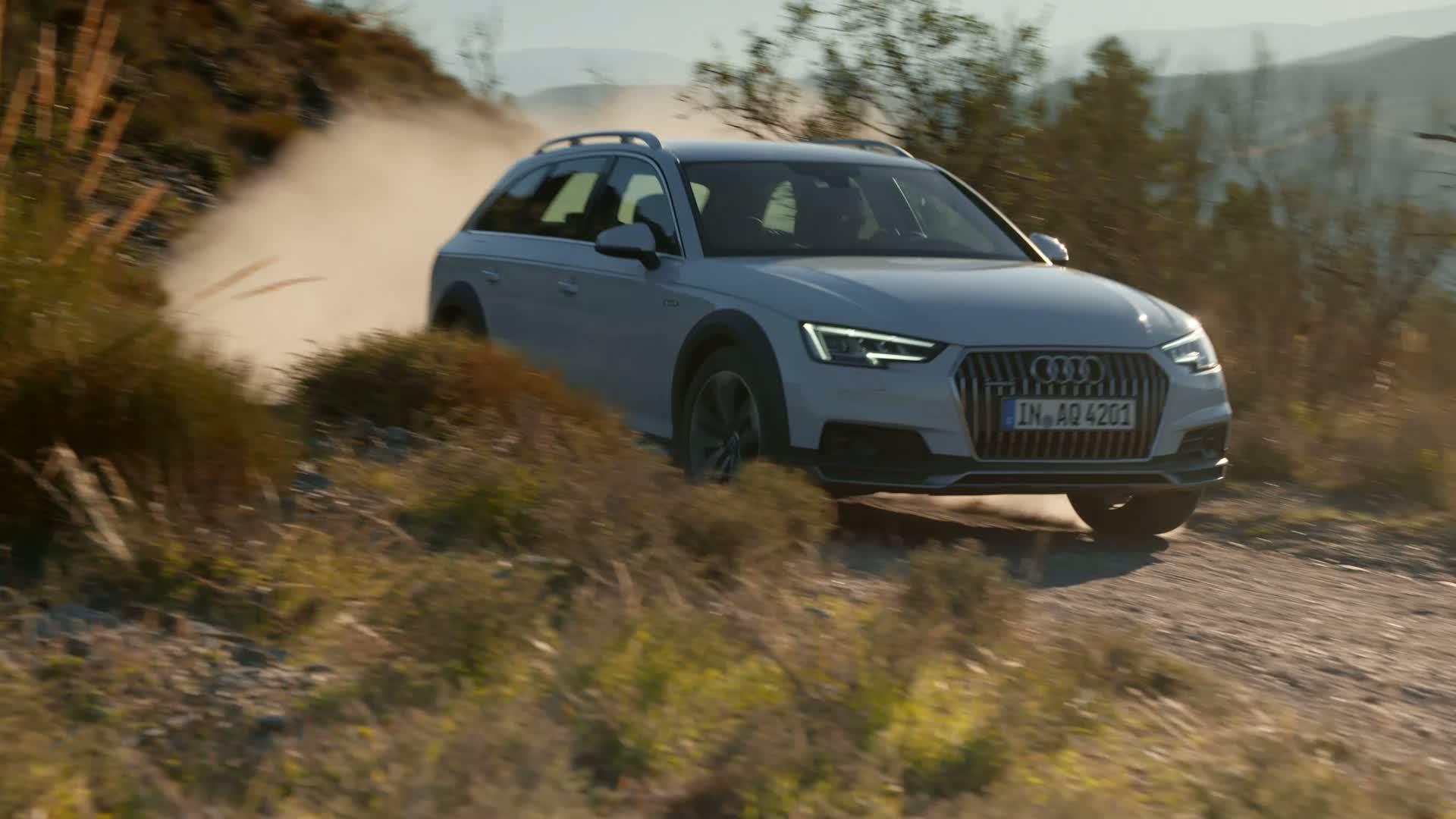 Audi A4 allroad quattro - Trailer