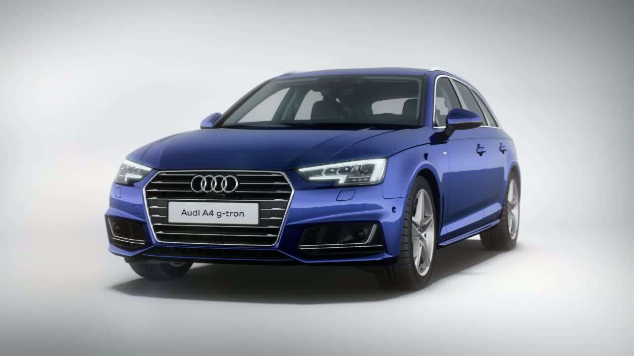 Audi A4 Avant g-tron - Animation