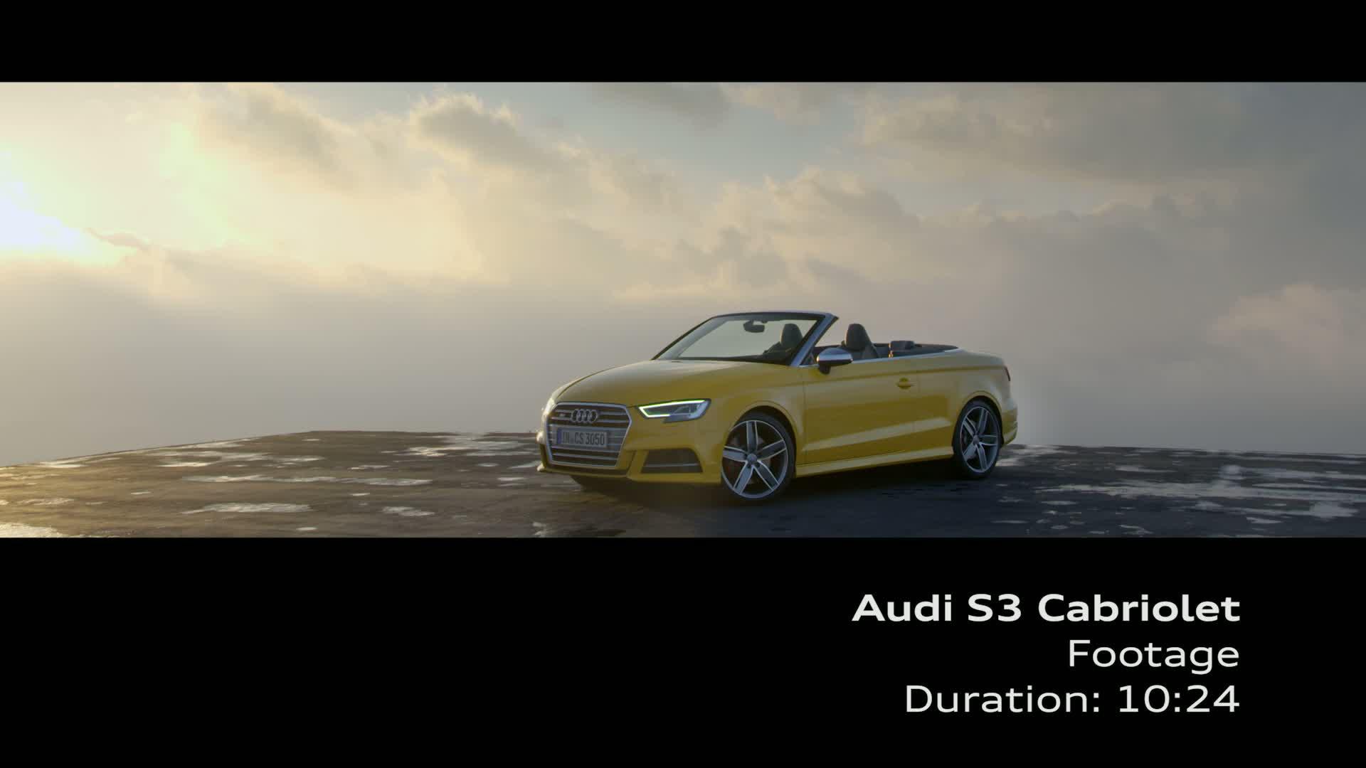Audi S3 Cabriolet - Footage