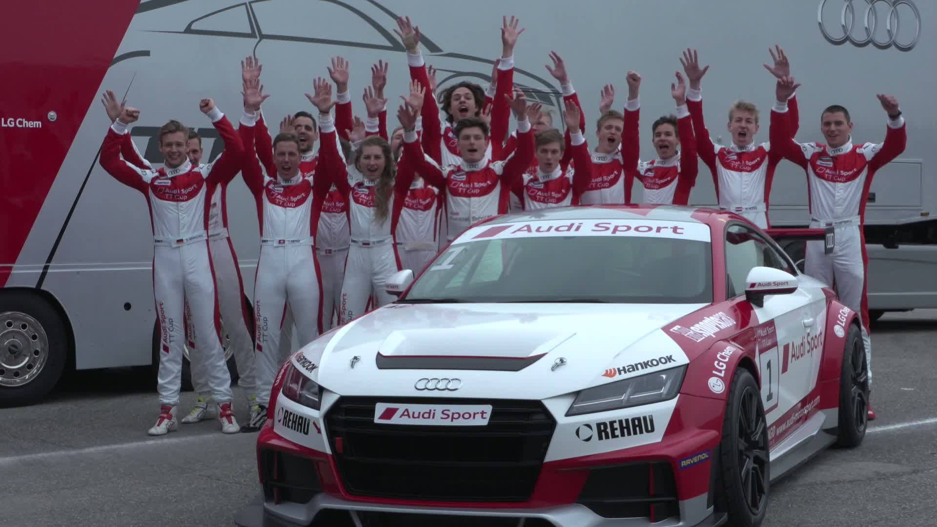 60 Seconds of Audi Sport 4/2016 - Audi Sport TT Cup, finaler Test
