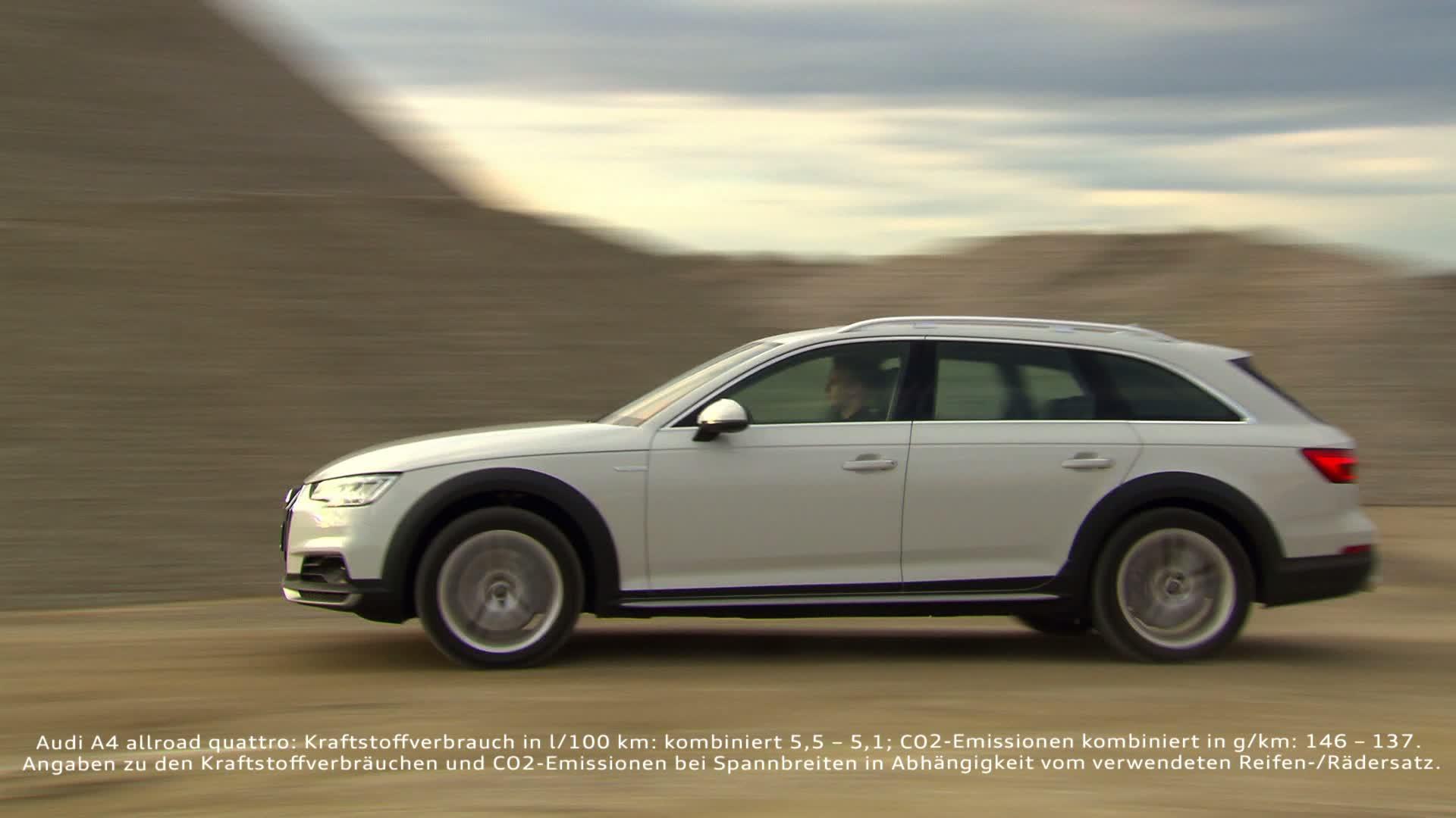 Der neue Audi A4 allroad quattro - Allrounder mit Offroad-Fähigkeiten