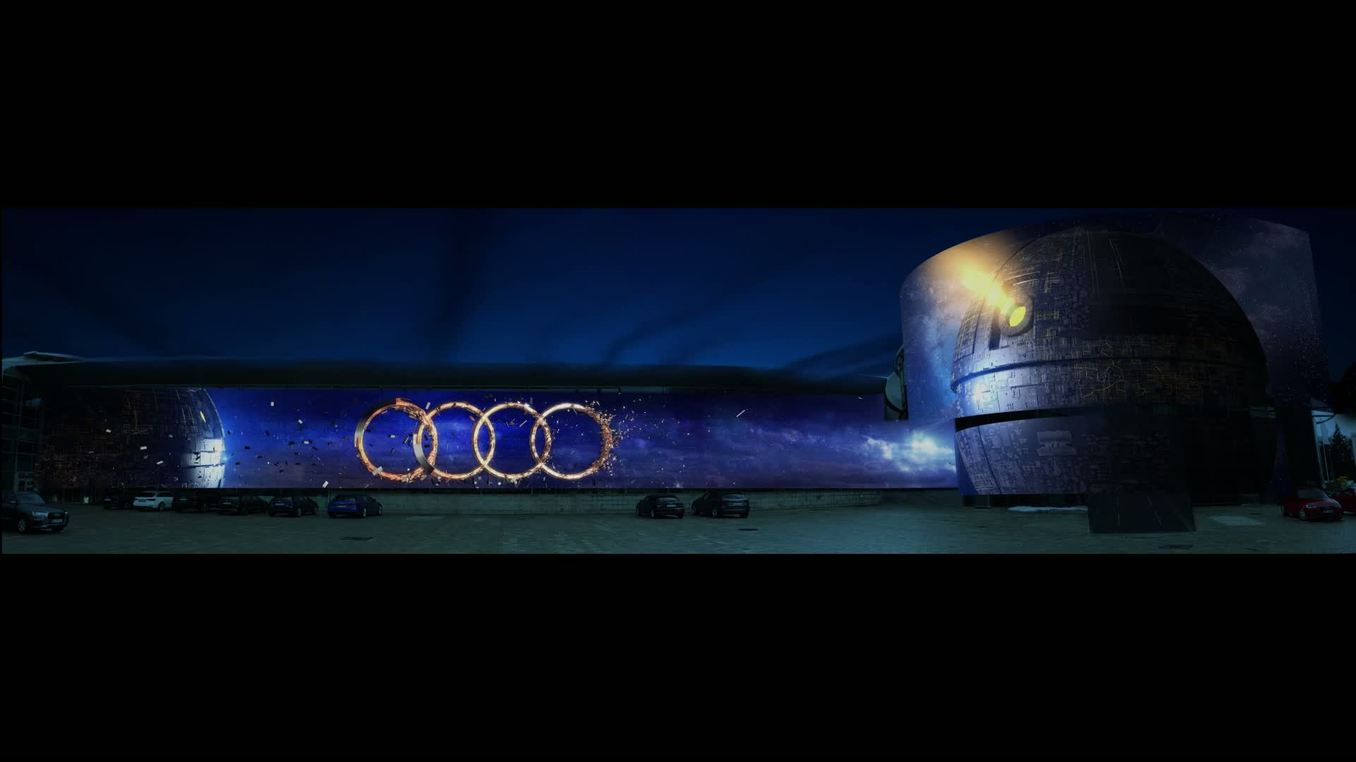 Teaser Audi Late Light Show - Videomapping