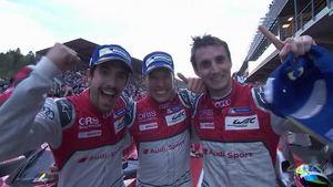 Heißes Rennen in Spa - Audi feiert ersten WEC-Saisonsieg
