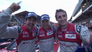 Audi wins heat race at Spa