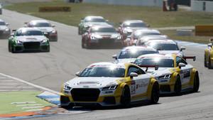 Saisonauftakt im Audi Sport TT Cup: van der Linde nicht zu schlagen
