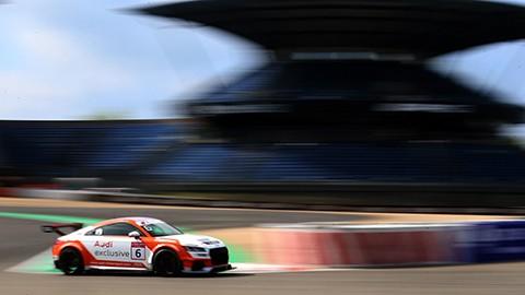 Marschall und van der Linde triumphieren im Audi Sport TT Cup