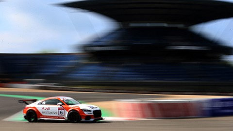 Marschall and van der Linde triumph in Audi Sport TT Cup
