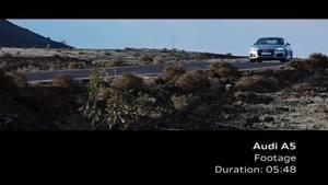 Audi A5 Coupé – Footage