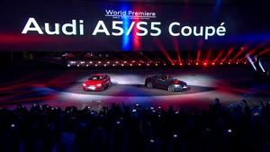 Spotlighting the new Audi A5 and S5 Coupé