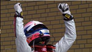 DTM Lausitzring: Ekström shines in comeback drive