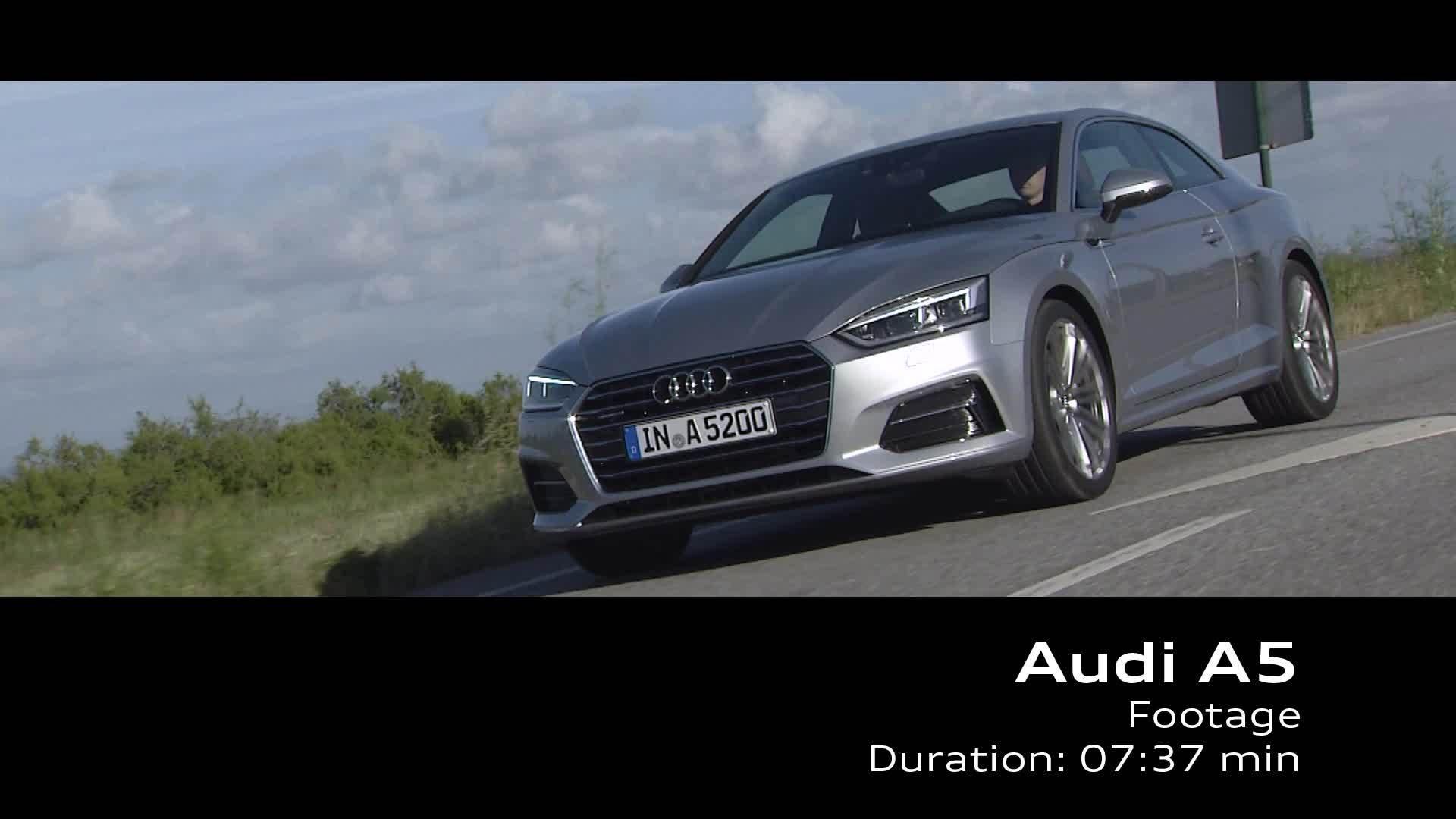 Audi A5 Coupé – Footage on Location