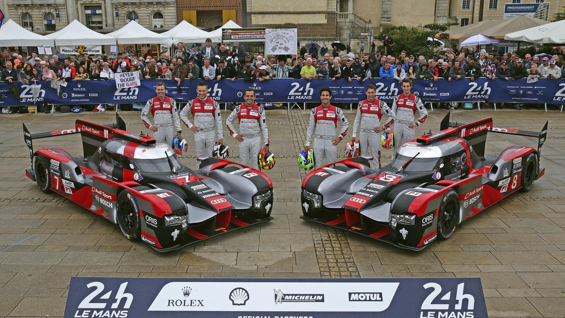Audi feiert zehn Jahre TDI in Le Mans