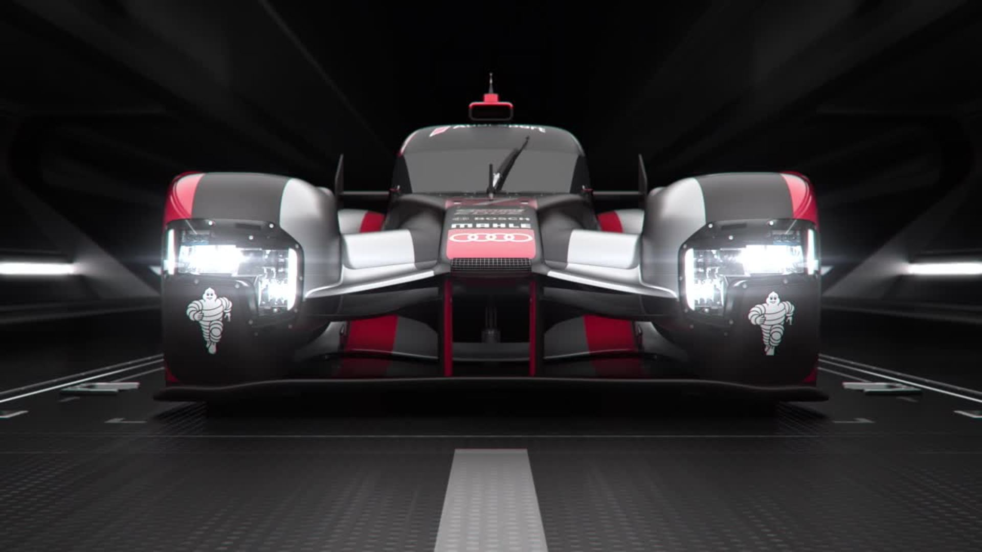 Audi R18 - Animation