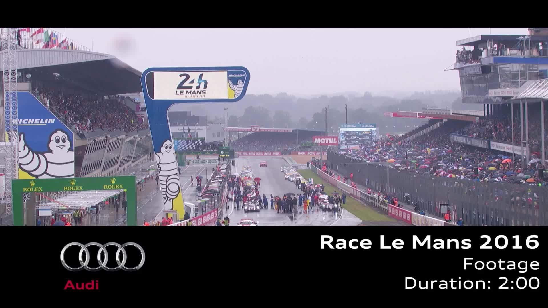 24h von Le Mans 2016 - Footage Rennen