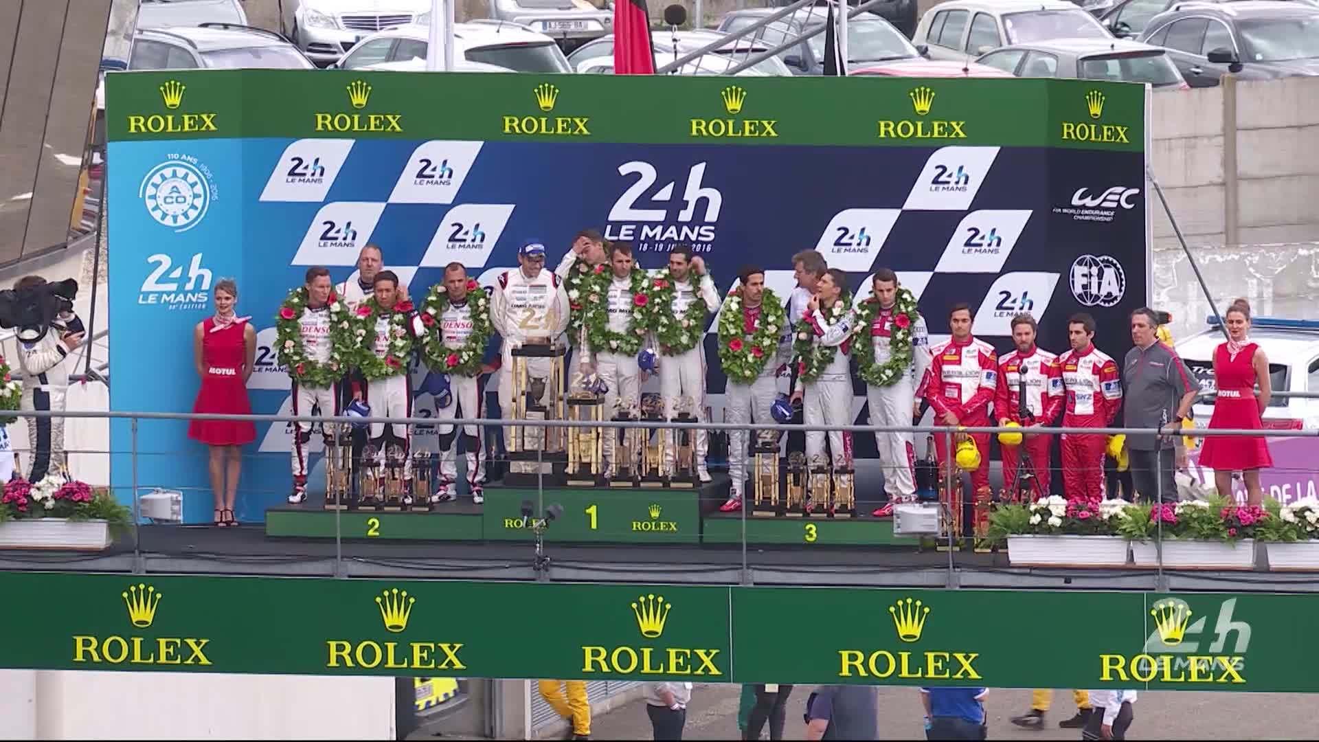 Le Mans 2016 - Zusammenfassung Rennwochenende