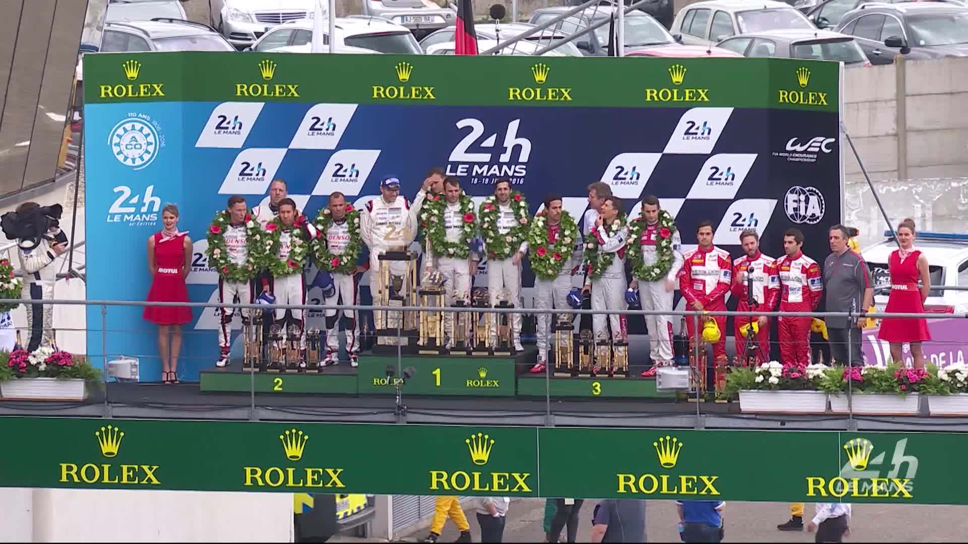 Le Mans 2016 - Summary race weekend