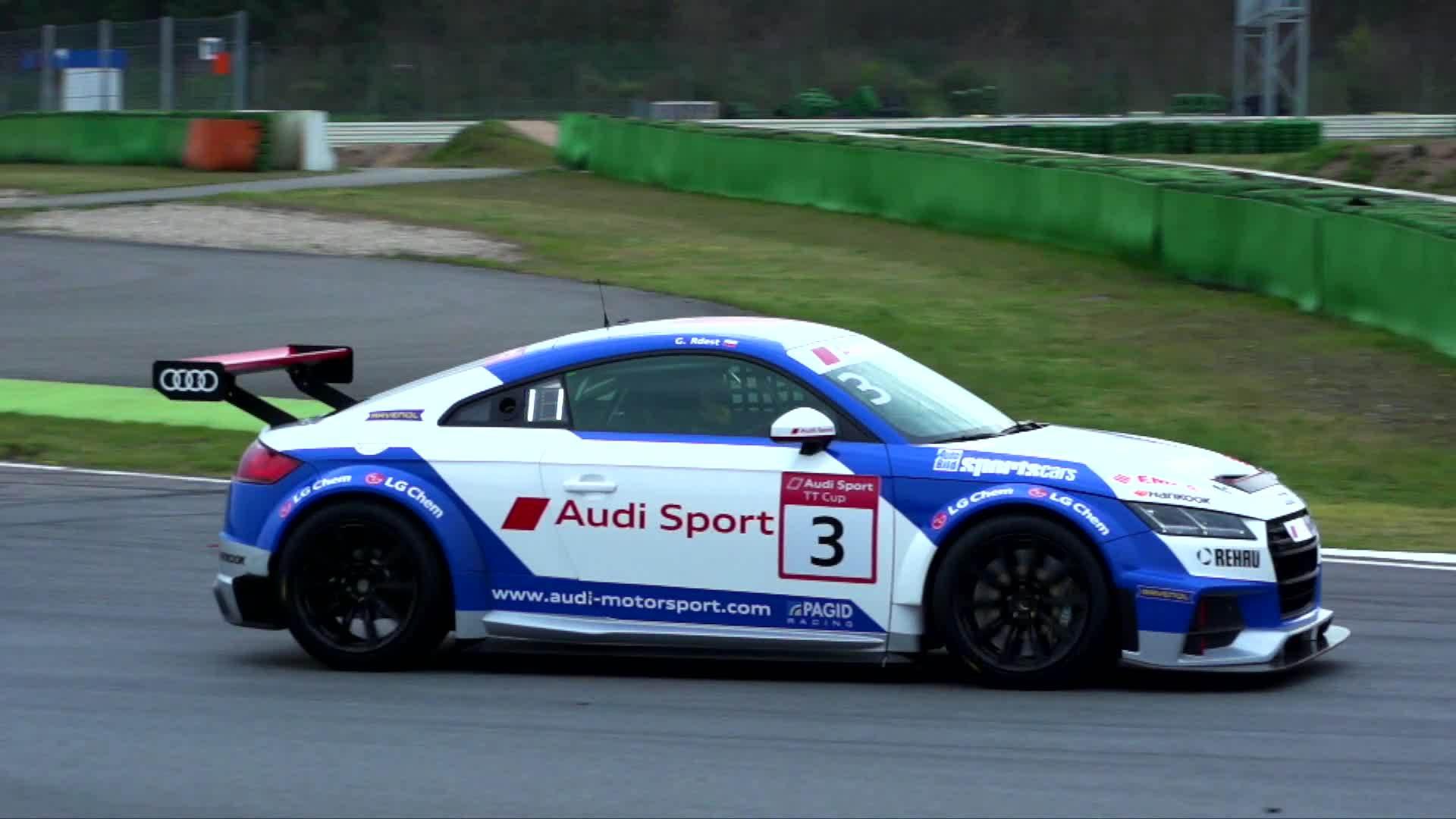 Der Audi TT cup – der Motor
