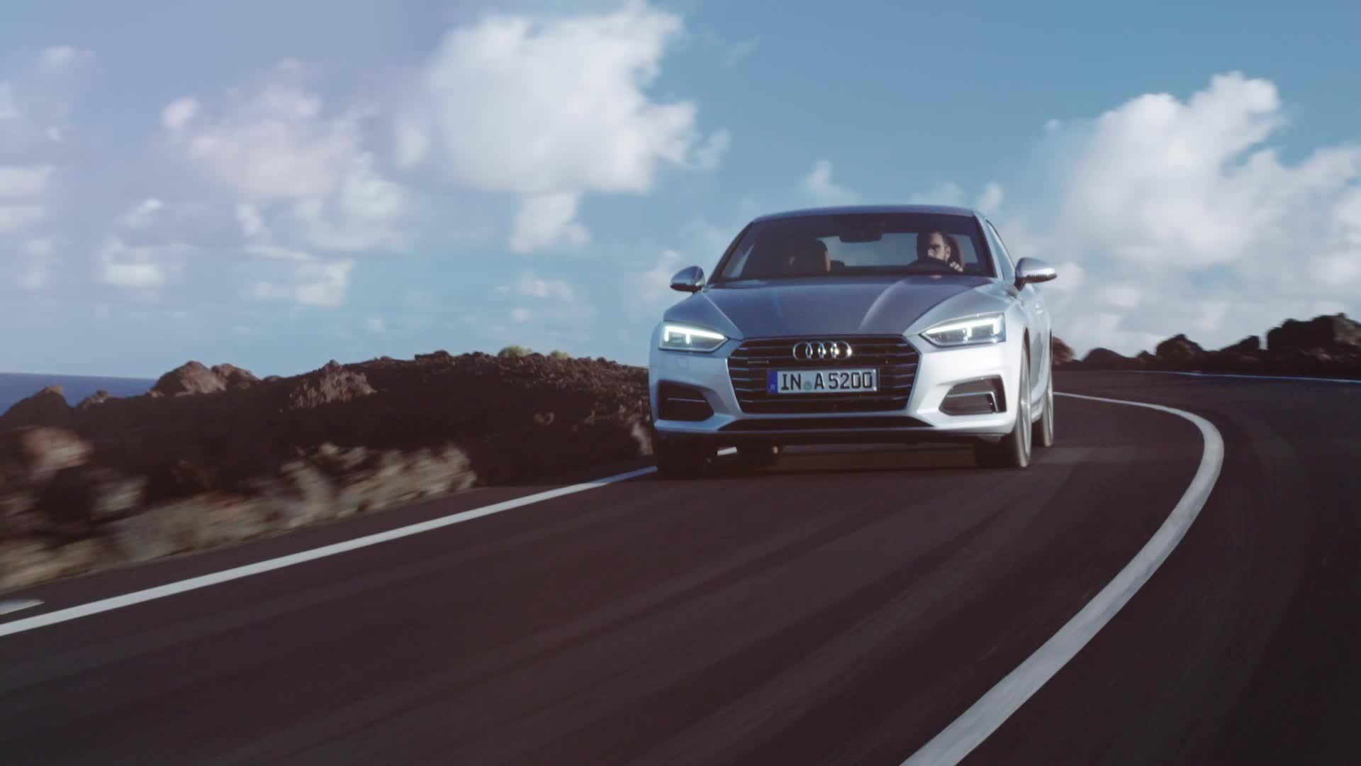 Sportliche Eleganz – das neue Audi A5 und S5 Coupé