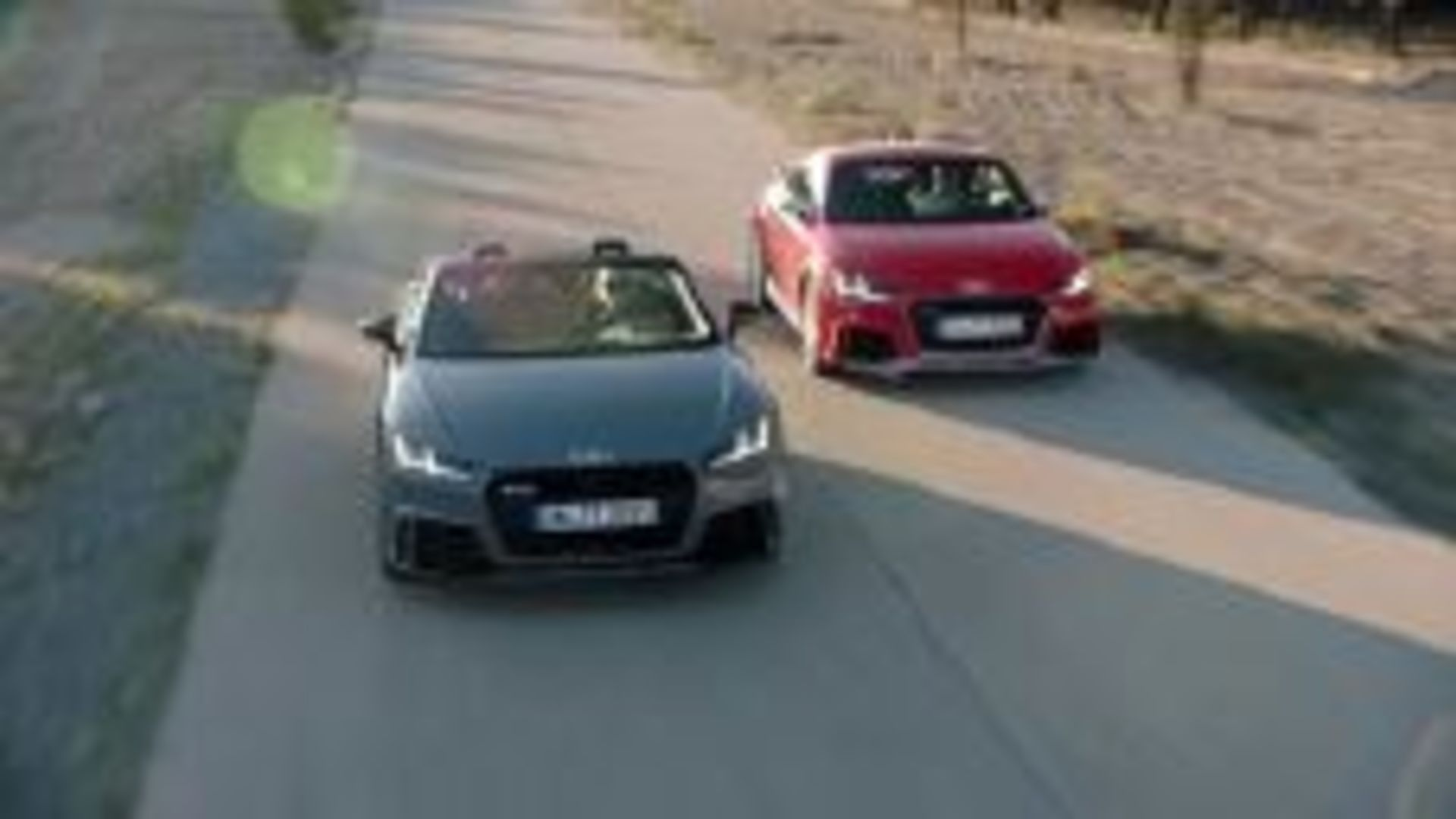 Dynamic duo - TT RS Coupé and TT RS Roadster