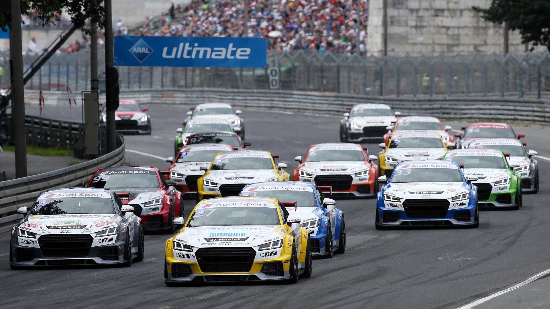 Audi Sport TT Cup Norisring - Highlights