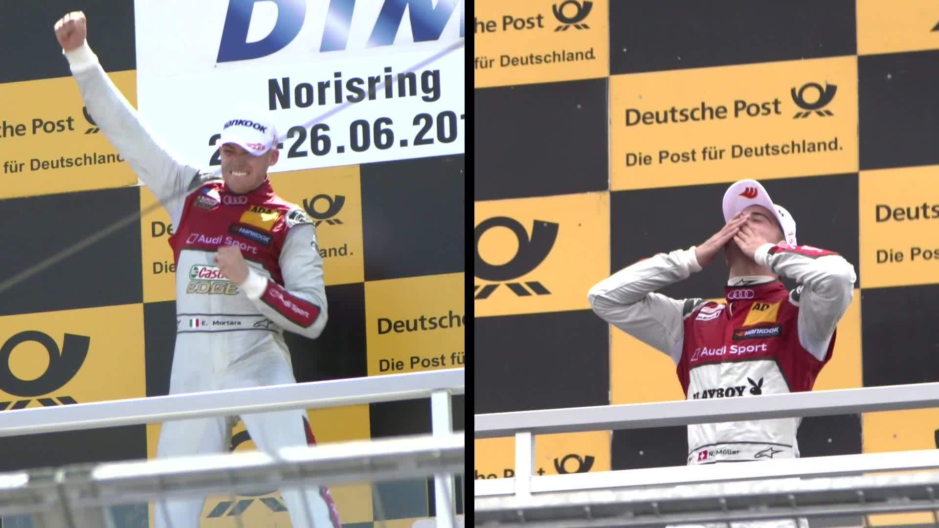 DTM Norisring - Zwei Rennen, zwei Siege