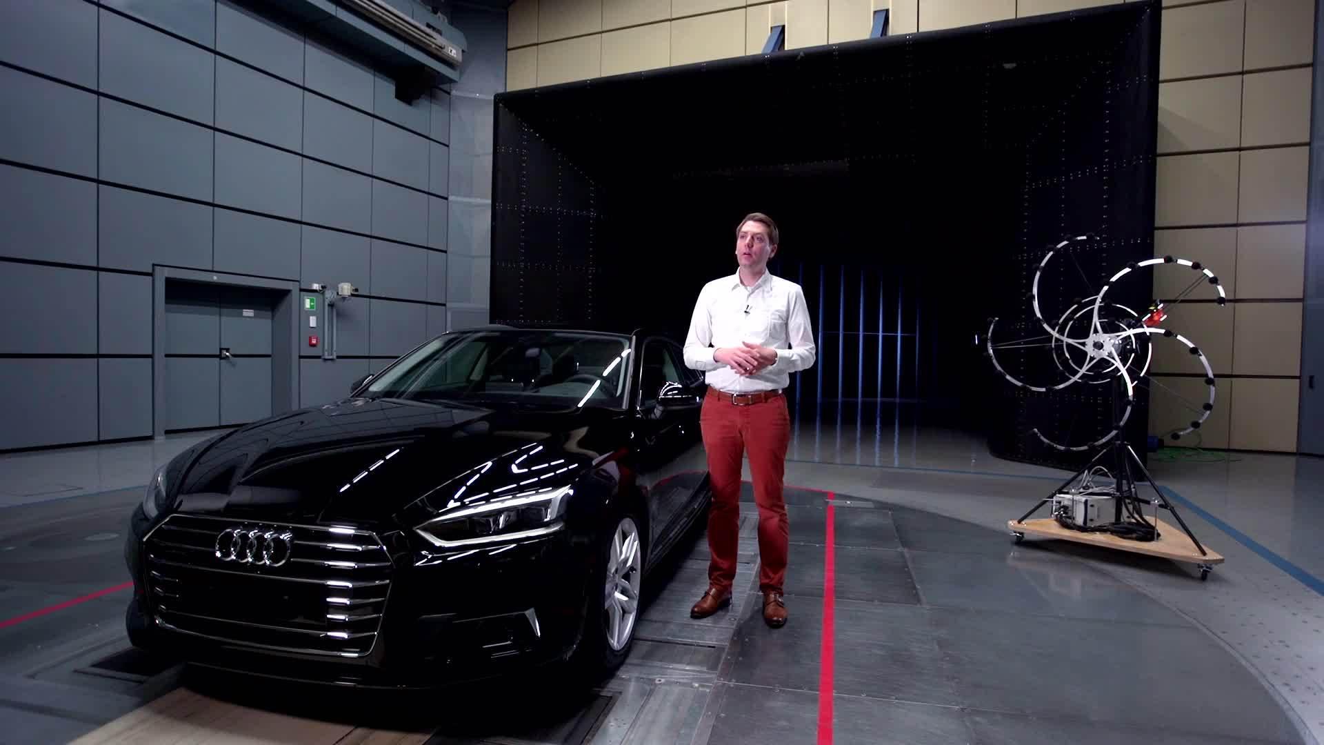 "Audi A5 Coupé - Best-in-class ""aeroacoustics"""