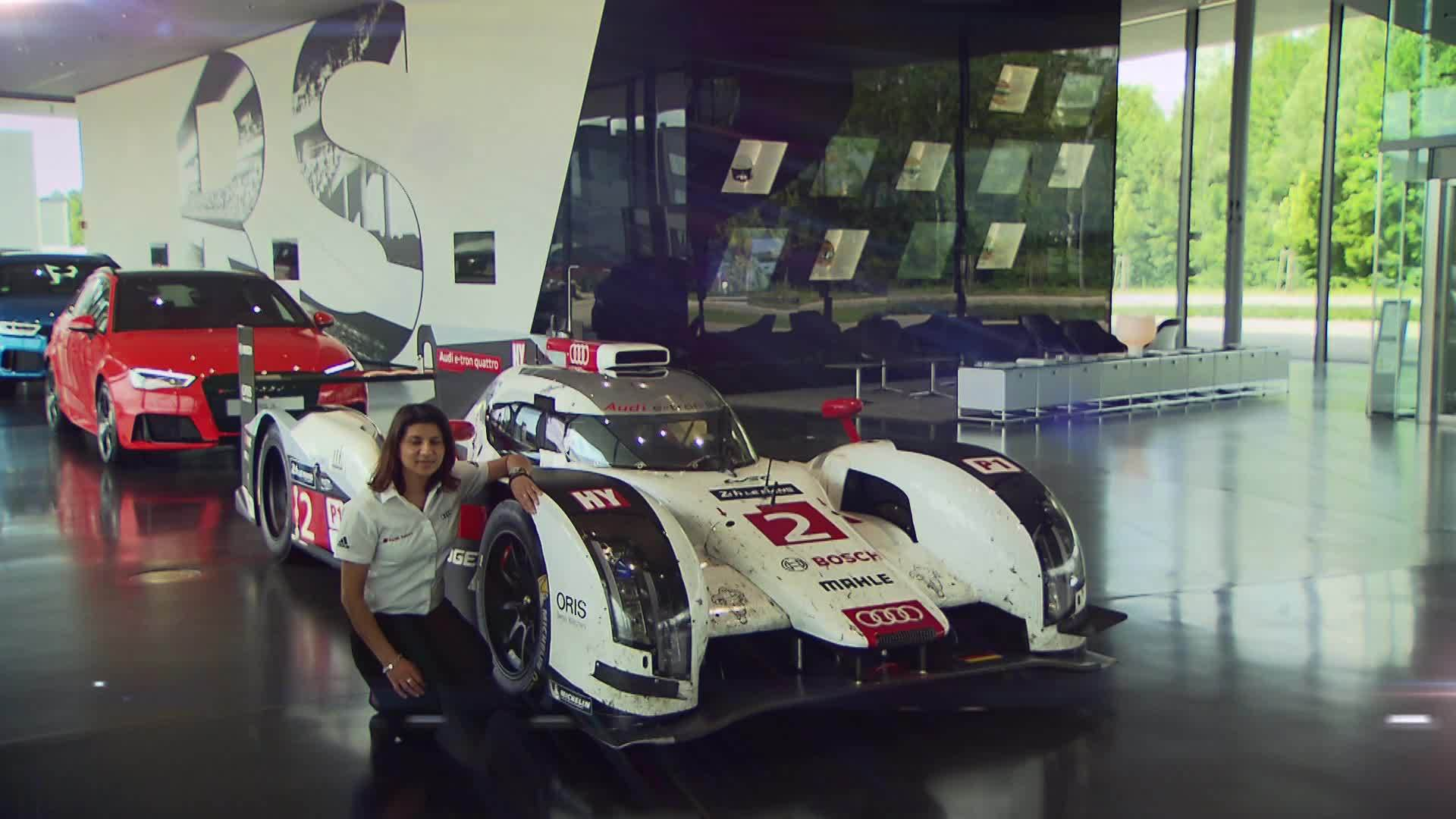 Audi Sport race engineer Leena Gade