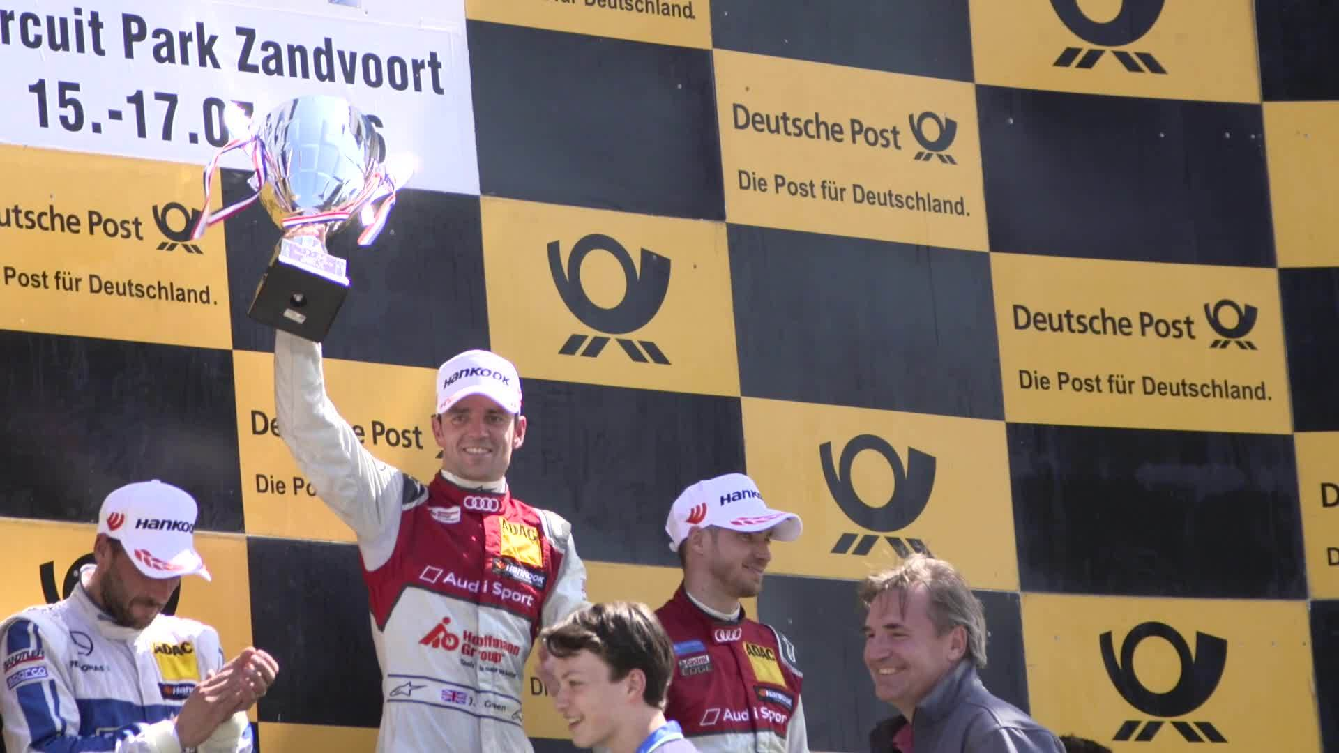 DTM - First victory this season for Jamie Green