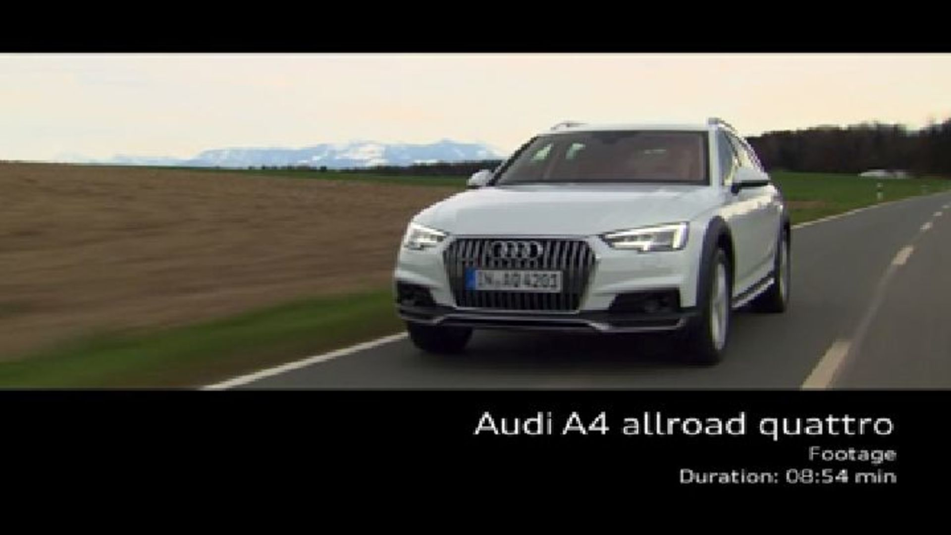 Audi A4 allroad quattro - Footage on Location