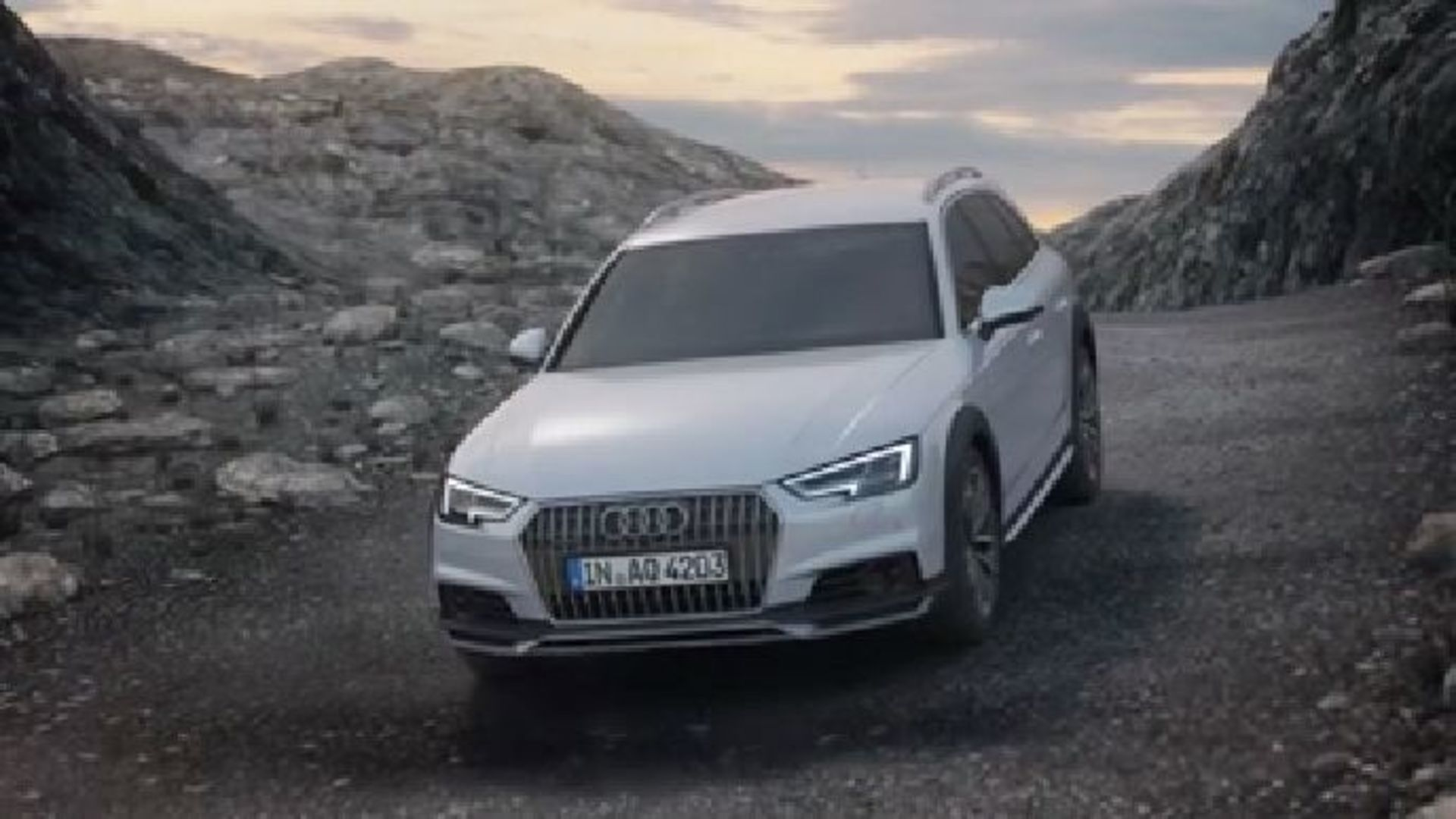 Audi A4 allroad quattro - Animation quattro-Antrieb mit ultra-Technologie