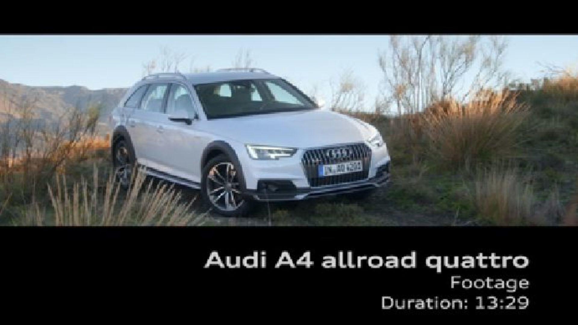 Audi A4 allroad quattro - Footage