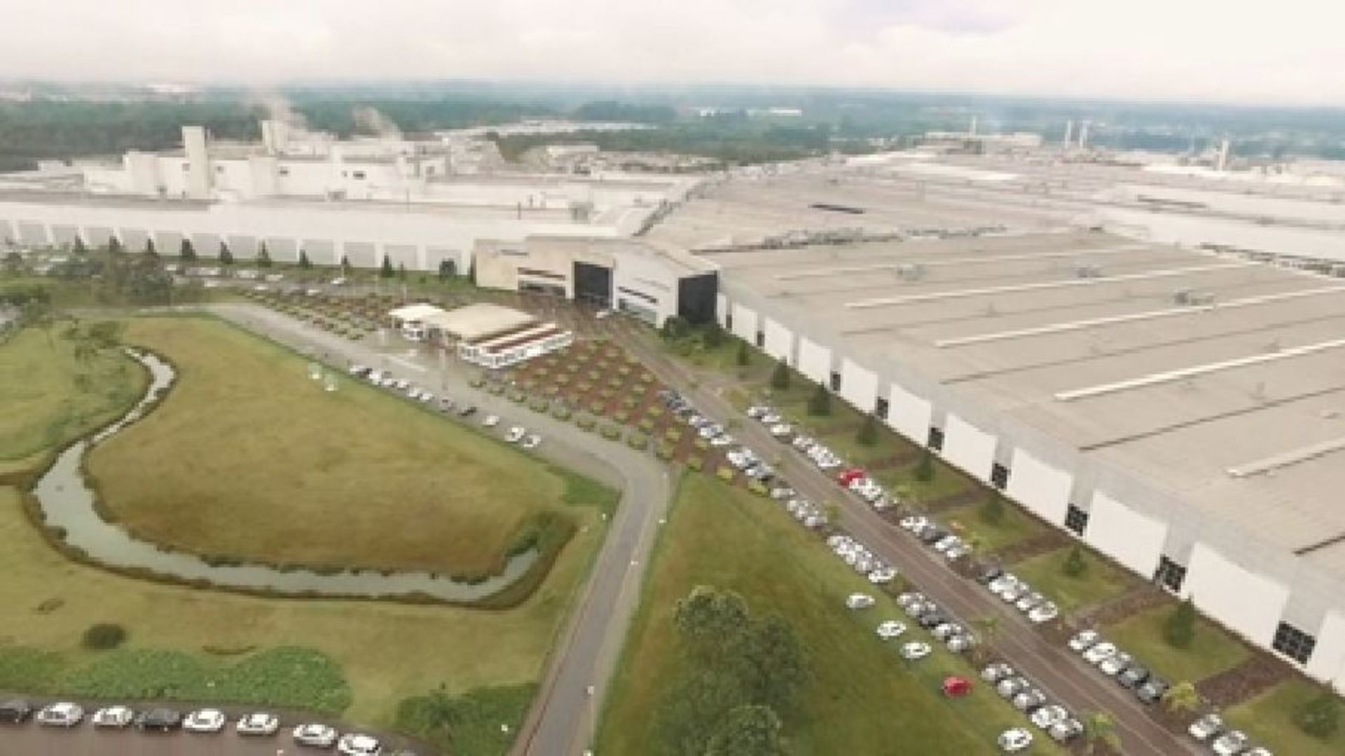 Audi production at the Curitiba site