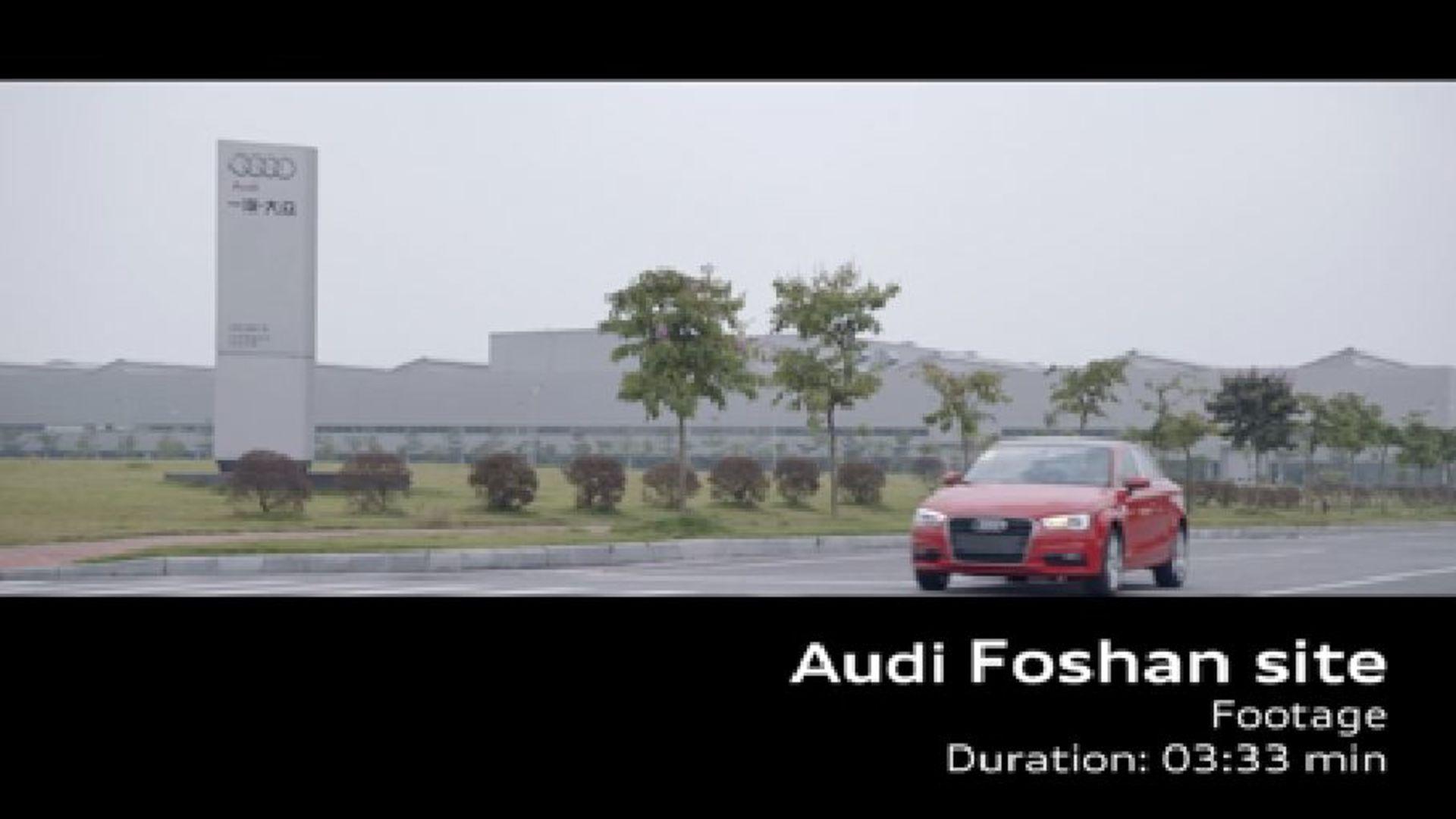 AUDI AG Standort China - Foshan