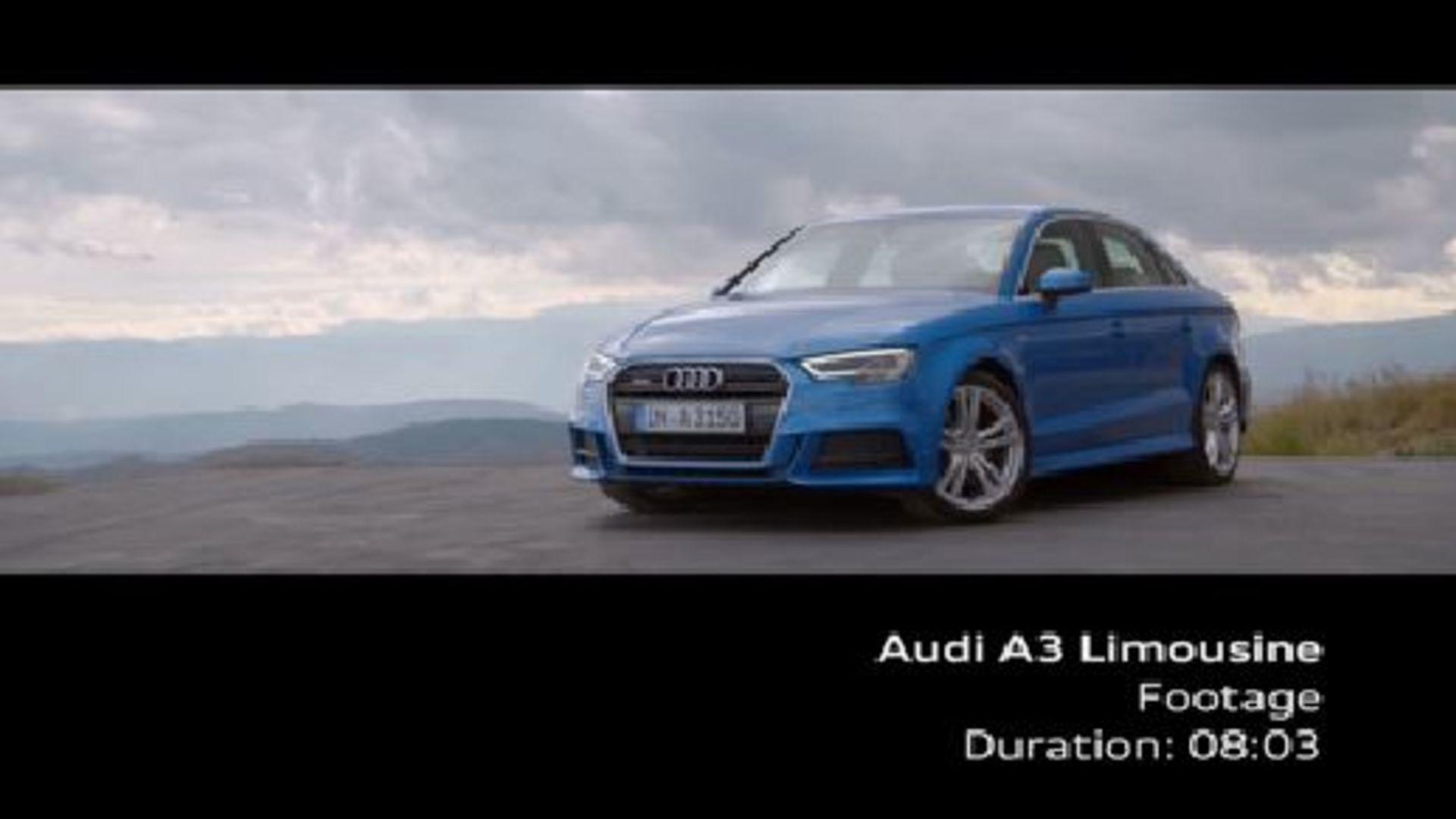 Audi A3 Sedan - Footage