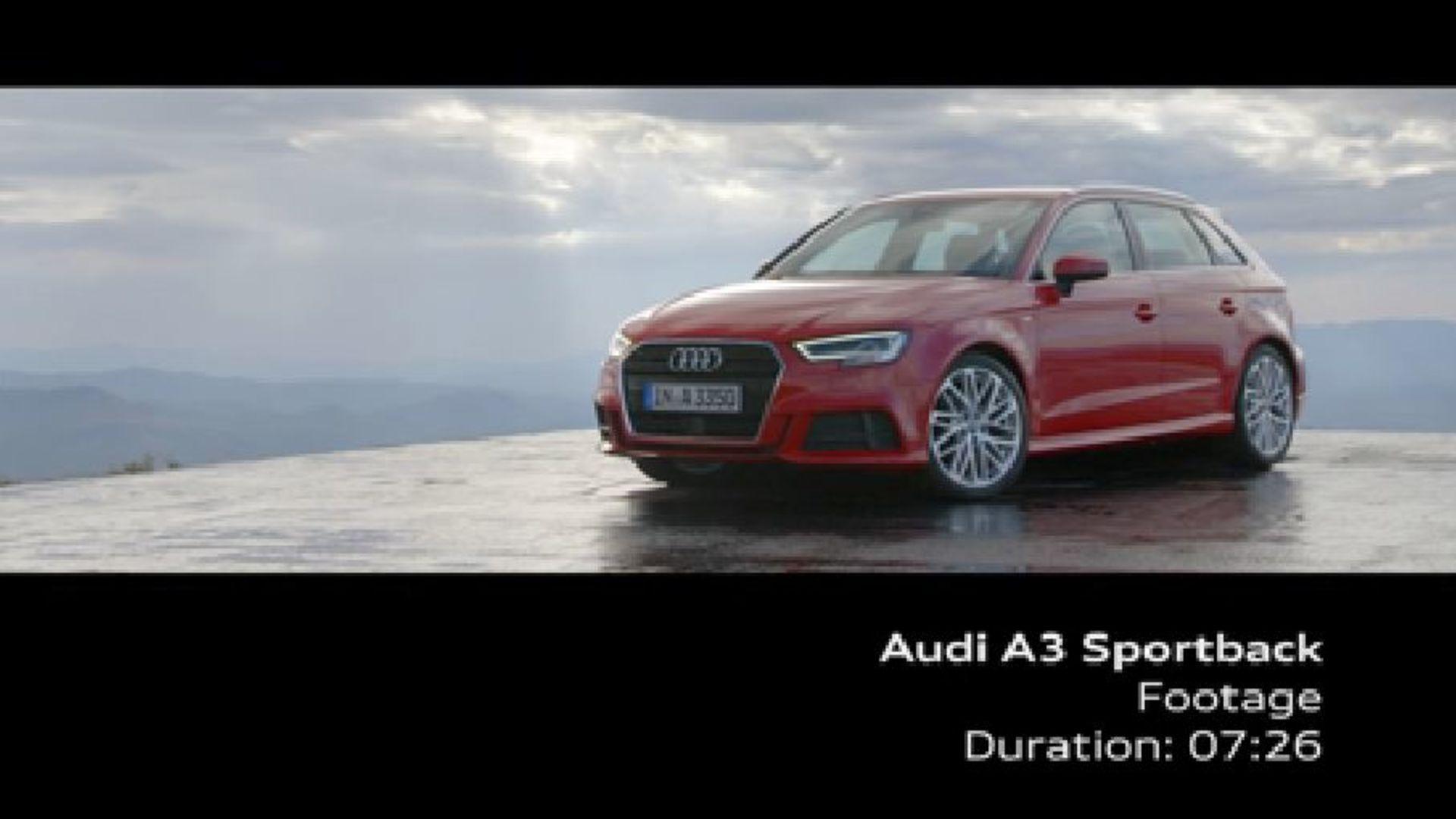 Audi A3 Sportback - Footage