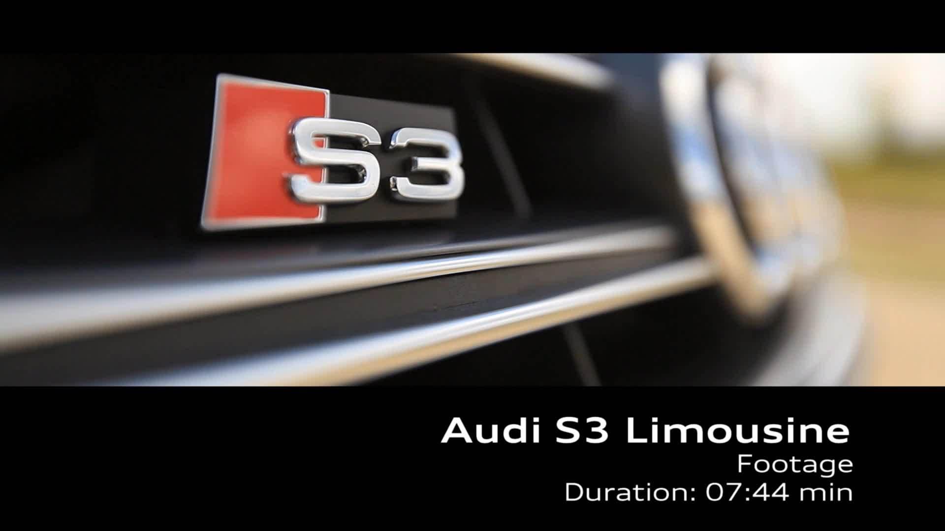 Audi S3 Limousine - Footage