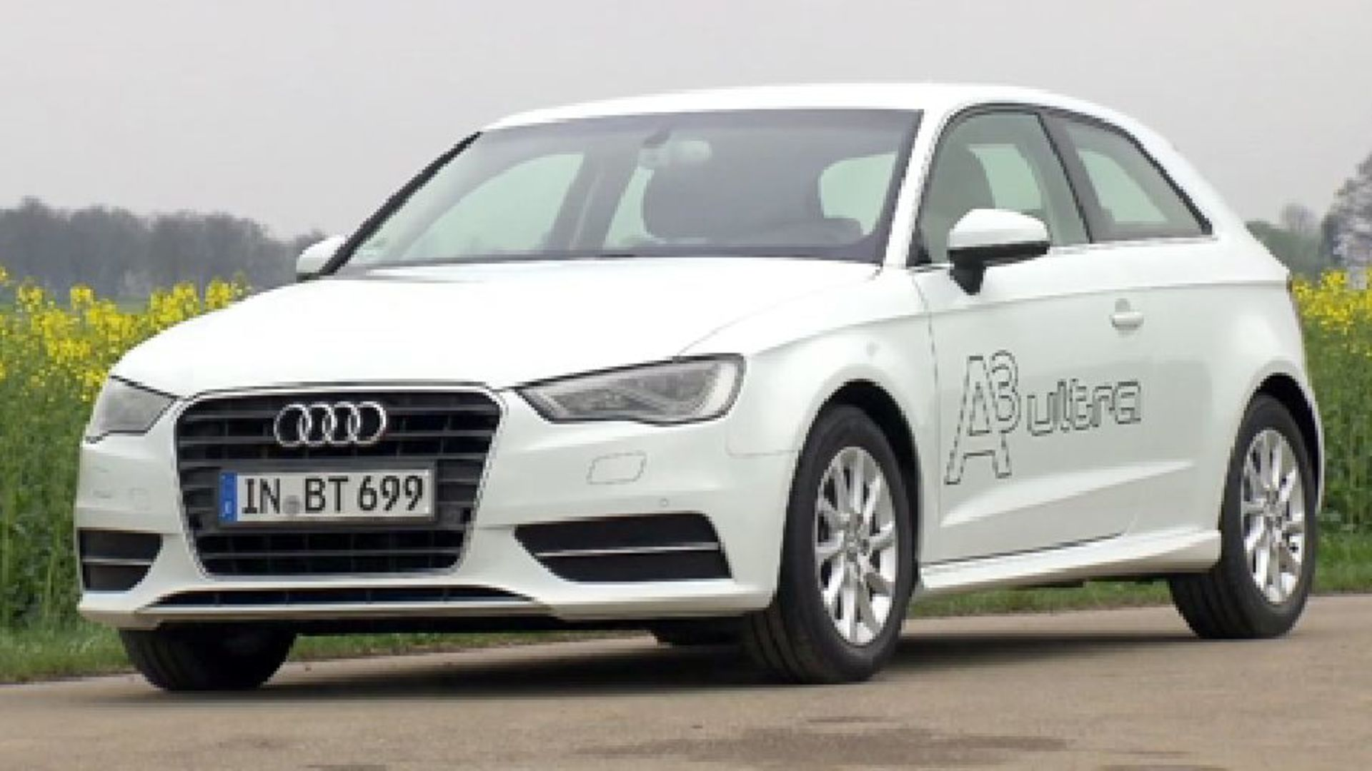 The Audi A3 ultra - Footage