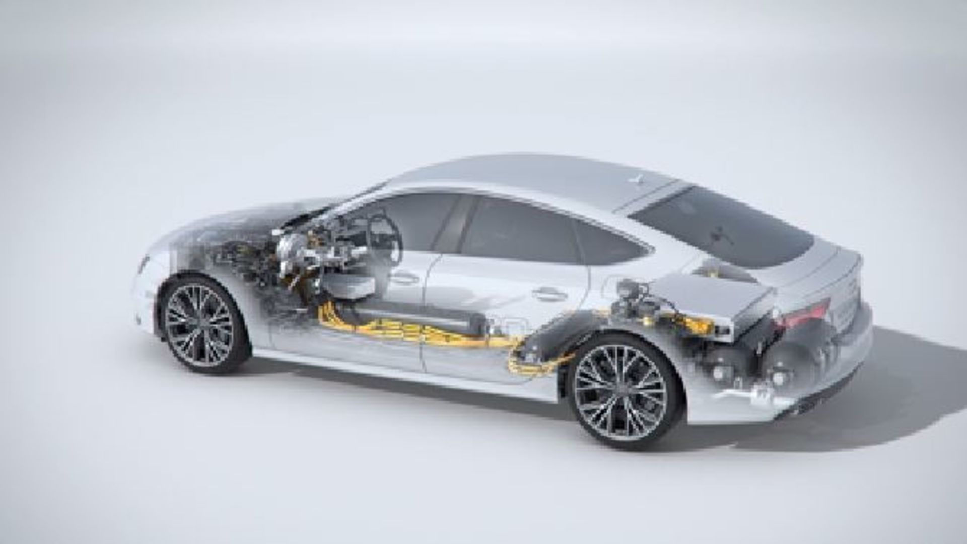 Der Audi A7 Sportback h-tron quattro - Animation