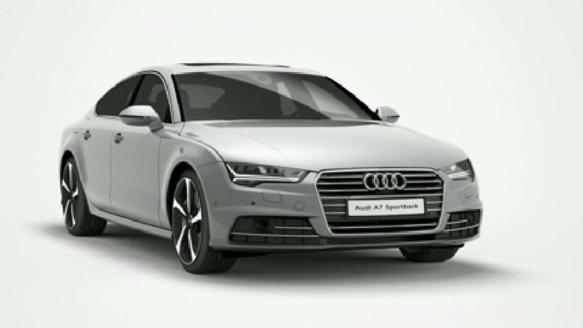Der Audi A7 Sportback - Animation mit neuer Siebengang S tronic