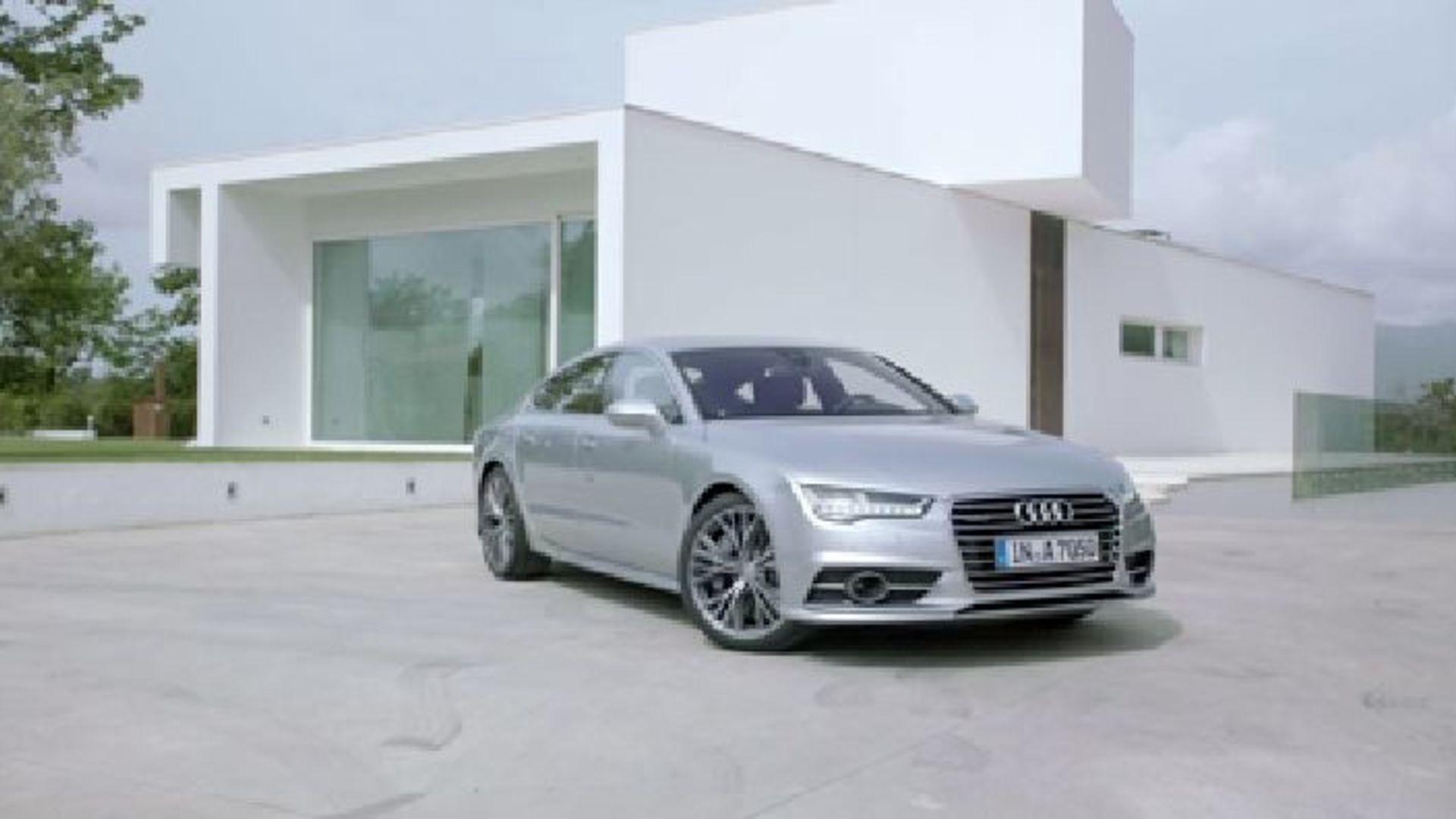 The Audi A7 Sportback - Footage