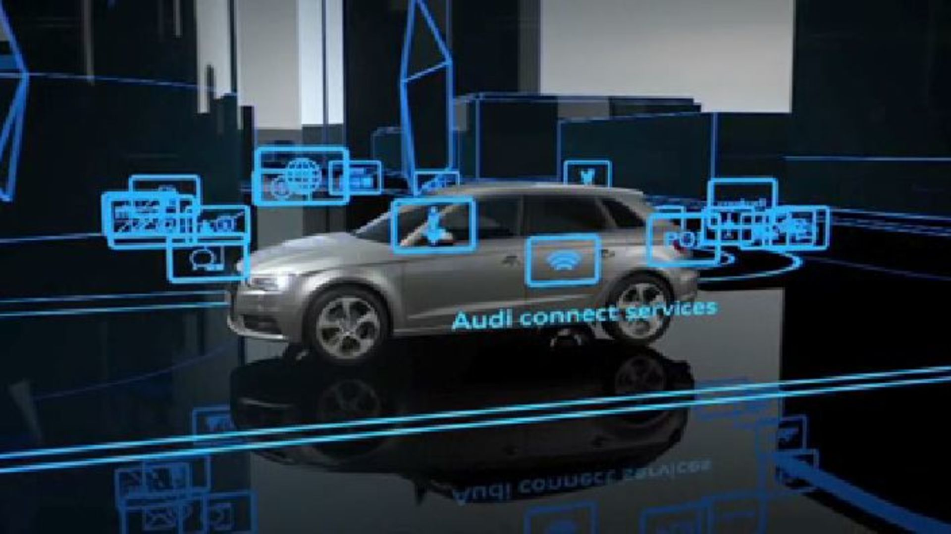 Audi connect - Animation