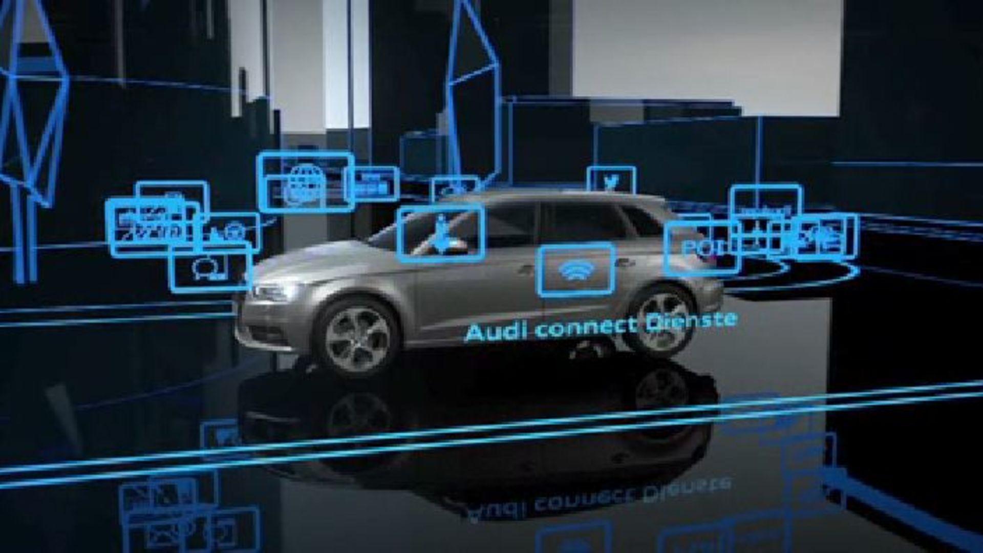 Audi connect - Animation