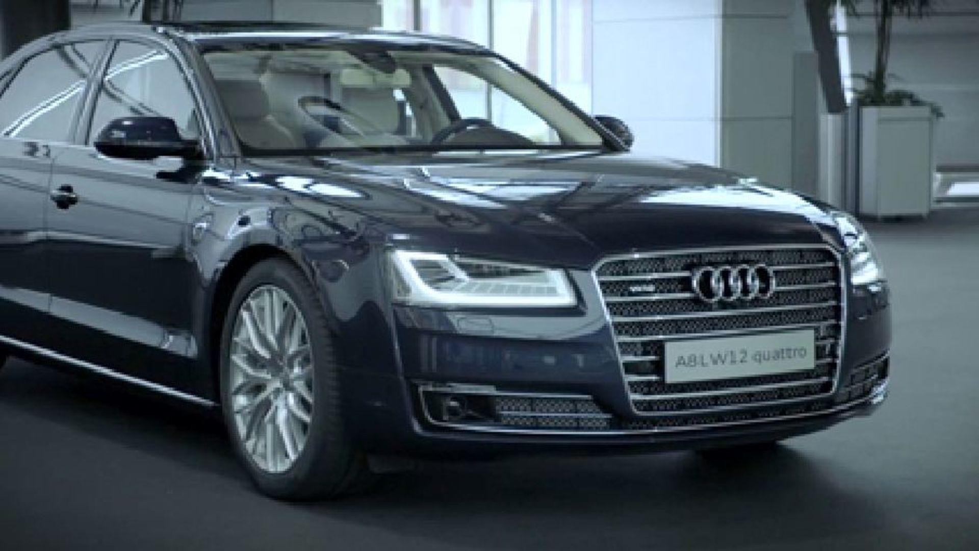 The A8 Audi exclusive concept