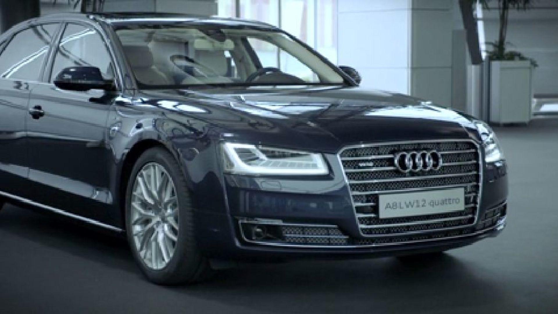 Der A8 Audi exclusive concept
