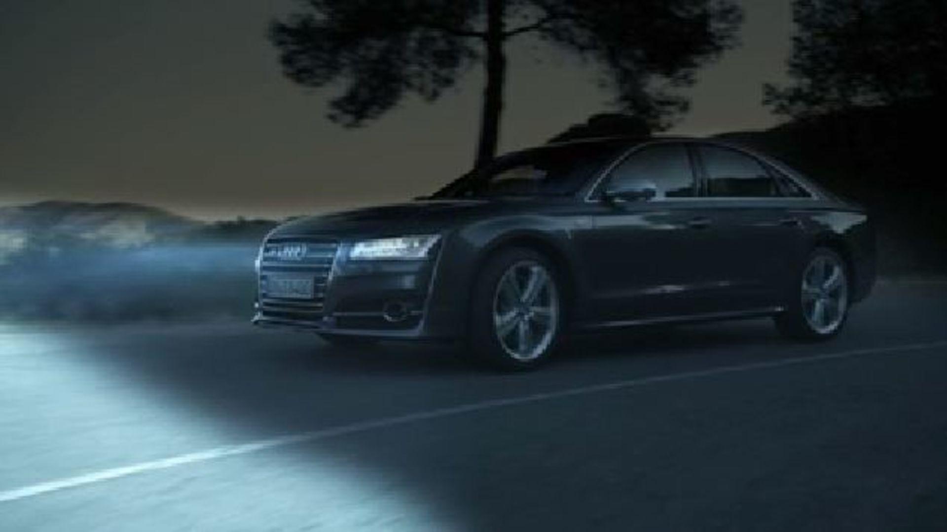 Die Audi Matrix LED-Scheinwerfer