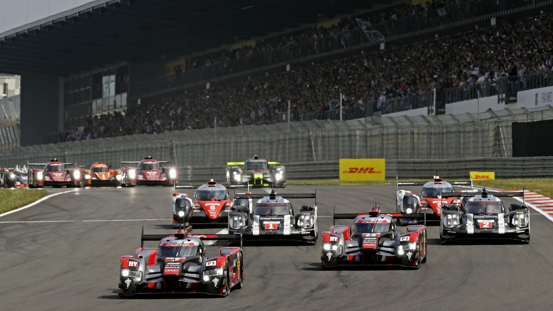 Gute Teamleistung von Audi beim Heimspiel