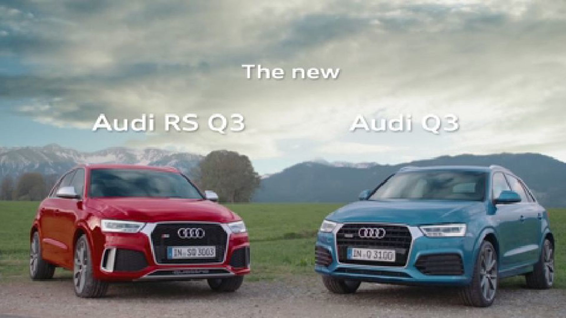 Die neuen Audi Q3 und RS Q3 - Trailer
