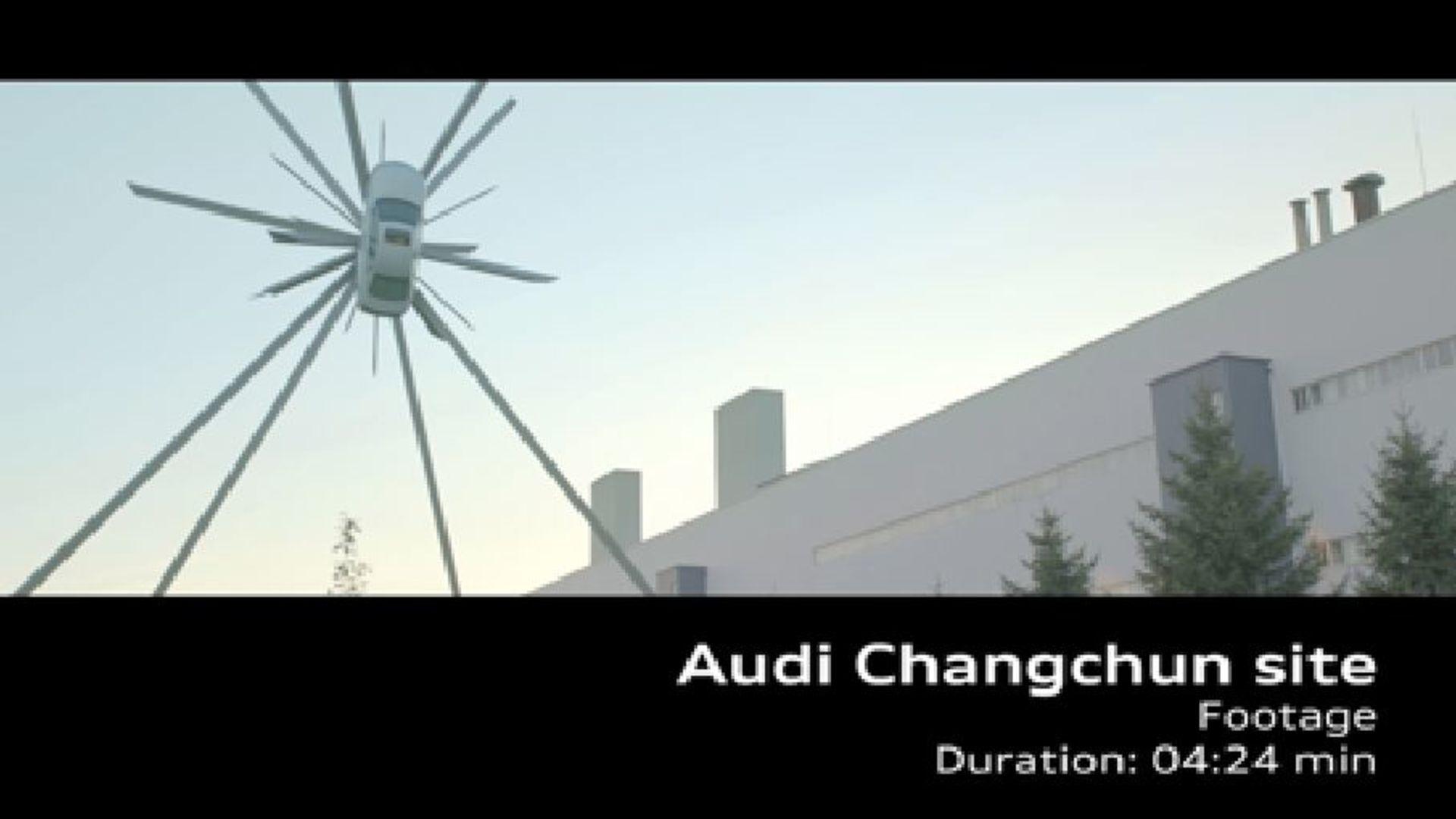 AUDI AG site in China - Changchun