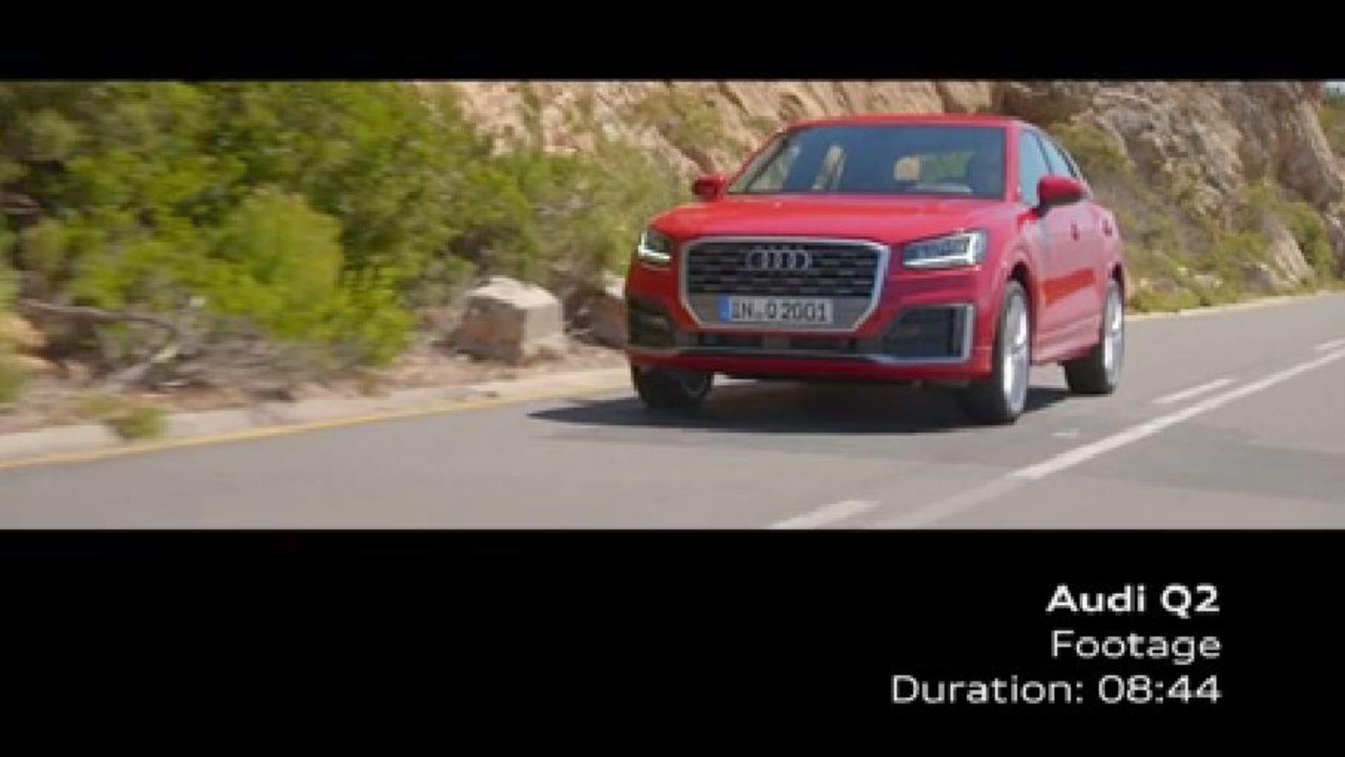 Audi Q2 - Footage Tangorot